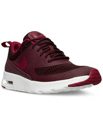 promo code c59ea 41464 Nike Women s Air Max Thea Textile Running Sneakers from Finish Line    macys.com