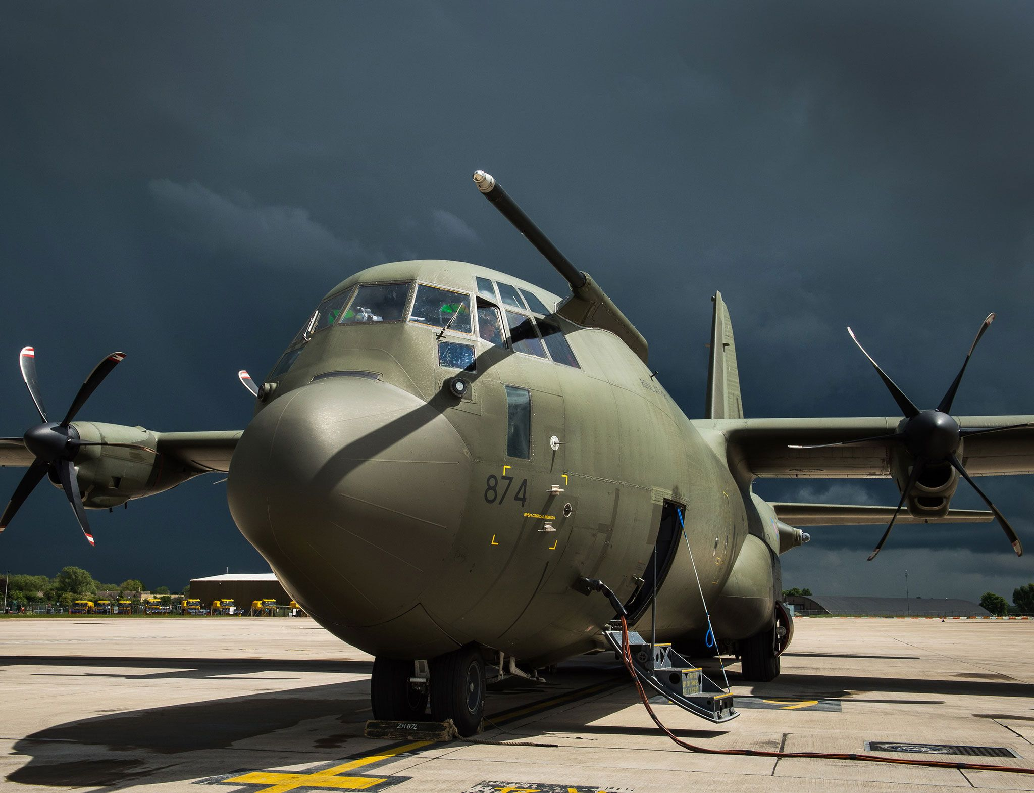RAF C-130J RAF Brize Norton ,Photographer: Steve Lympany - RAF Brize Norton Photographic Section