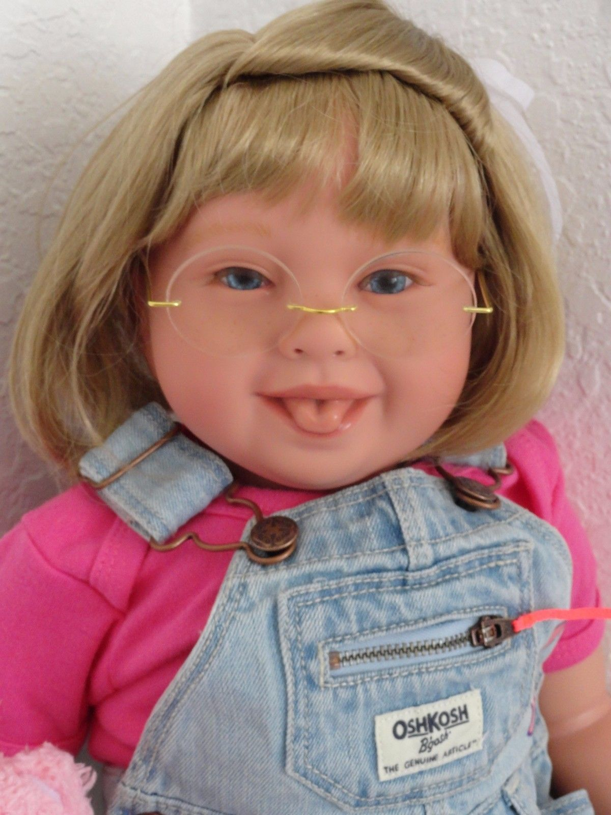 """Reborn 22""""Toddler Girl Doll Katie"""" Down Syndrome Tribute choose"""