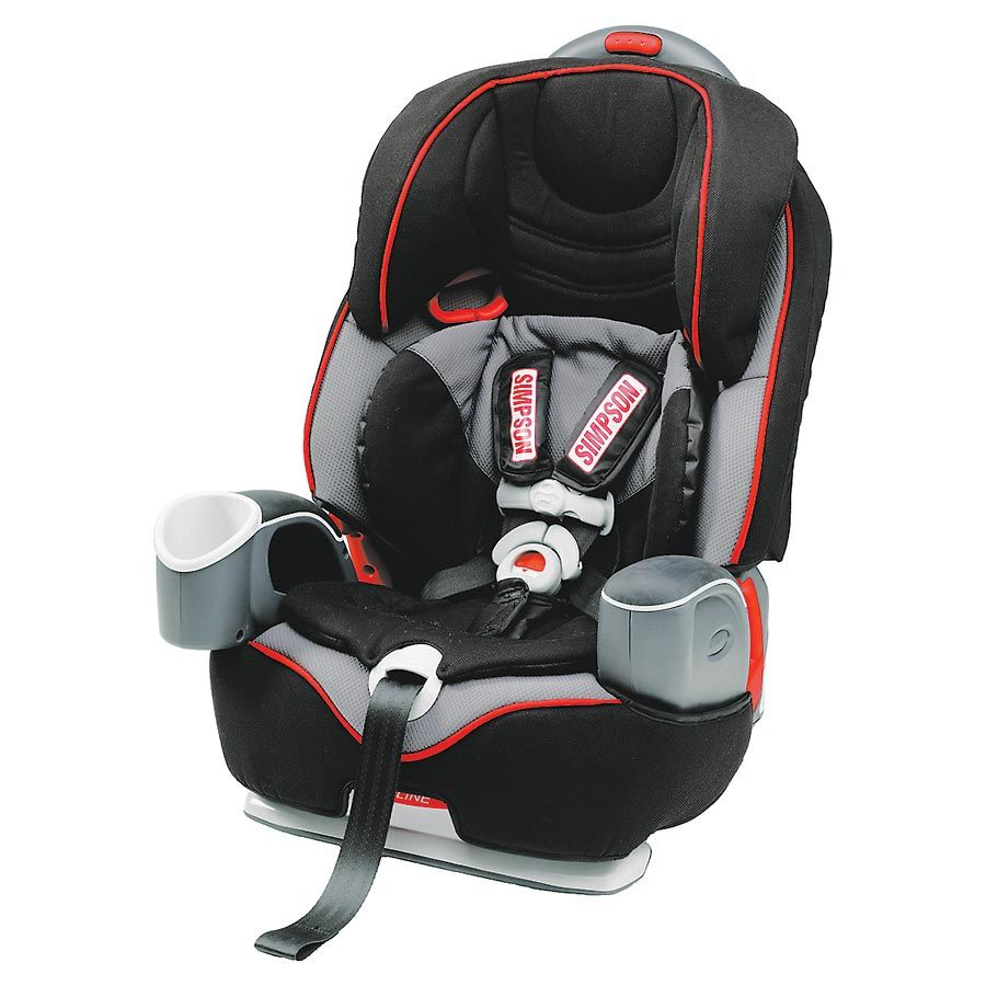 Put The Same Trust In Your Junior Racers Protection With Simpsons Gavin Front Facing Child Safety Seat 26995