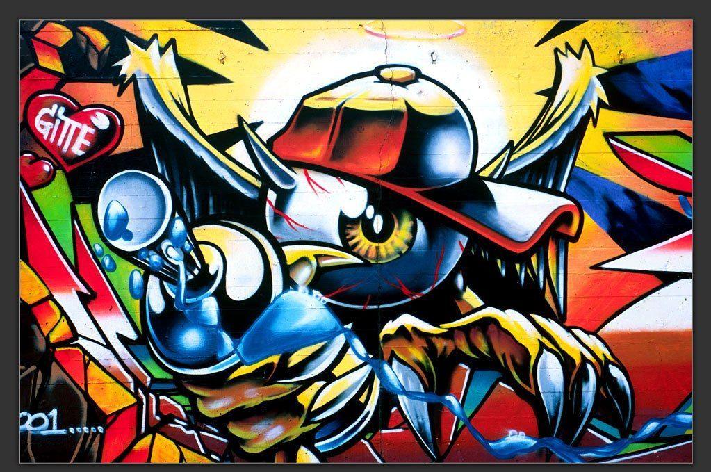 Colorful Graffiti Wallpaper Creative Wallpapers Hd Desktop