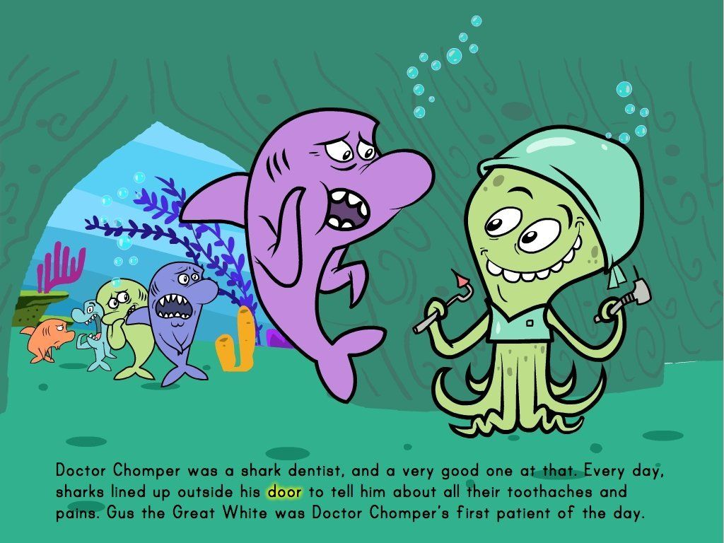 Work On Subtraction In This Short Story About Sharks Who