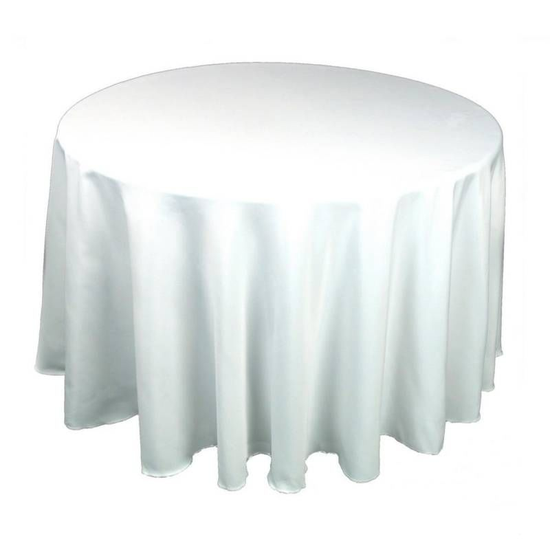 10 Pack Of 90 Round Polyester Tablecloth 25 Colors White Table Cloth Table Cloth Table Linens