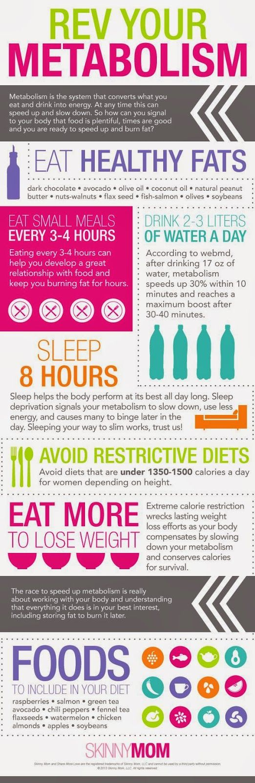 My Makeup Blog: How to Boost Your Metabolism