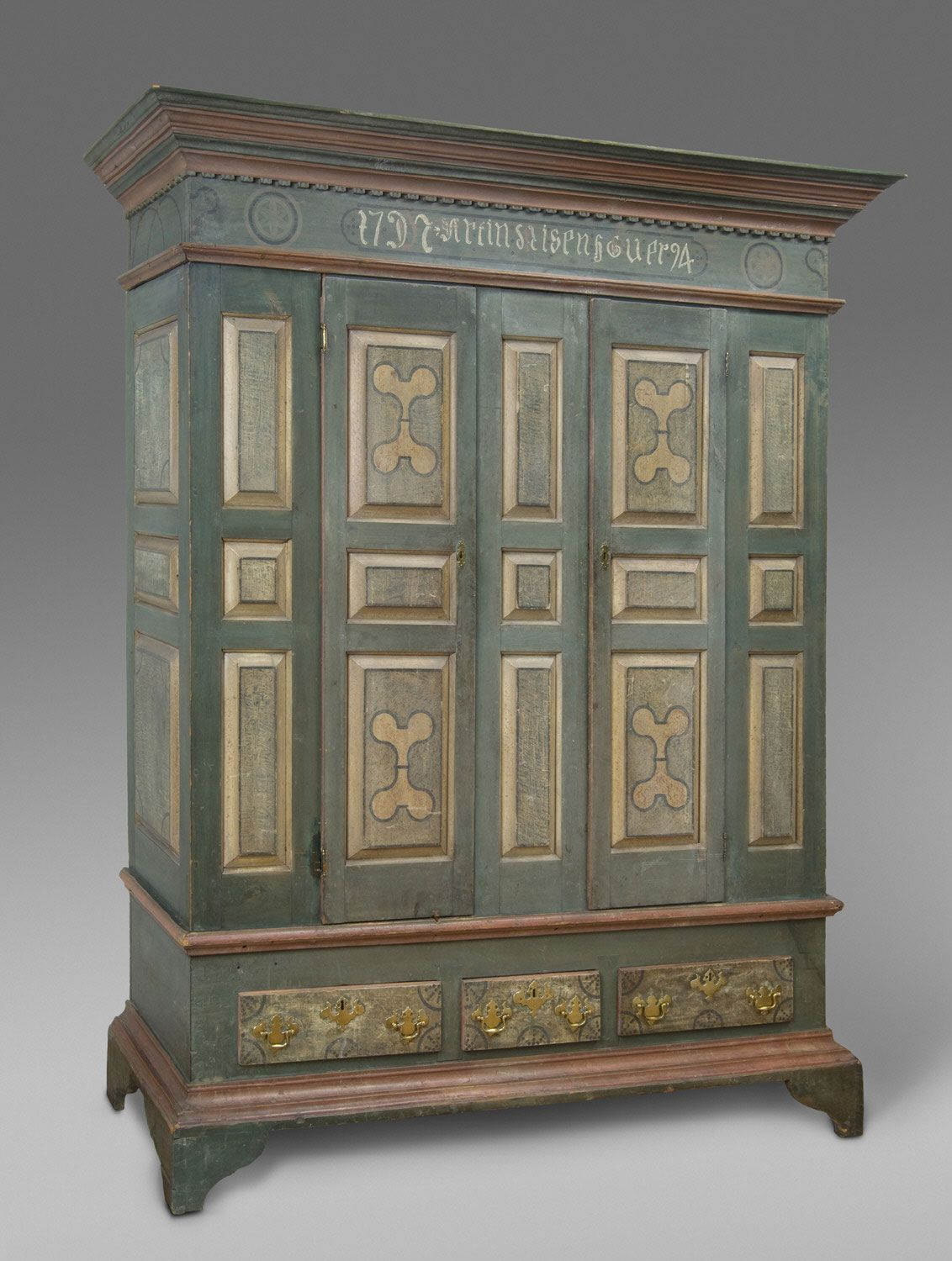 Wardrobe (Schrank) Artist/maker unknown, American, Pennsylvania German 1794 - Wardrobe (Schrank) Artist/maker Unknown, American, Pennsylvania