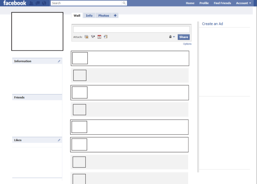 facebook template | classroom: social studies | pinterest | social, Powerpoint templates