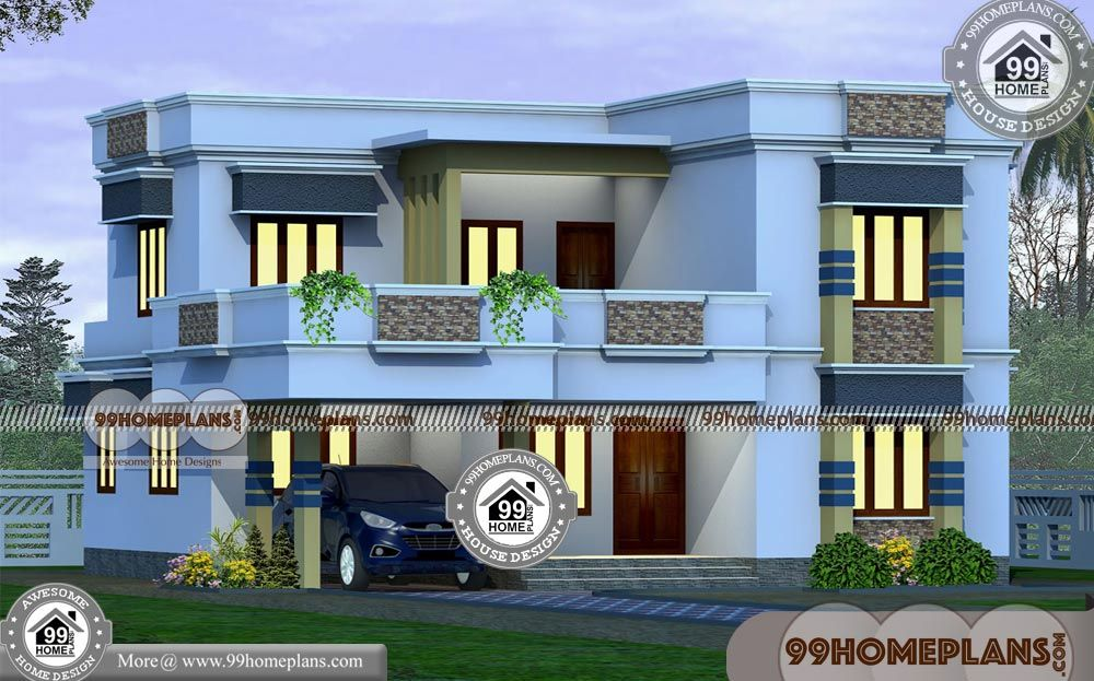Double Floor House Designs with Beautiful House Designs In