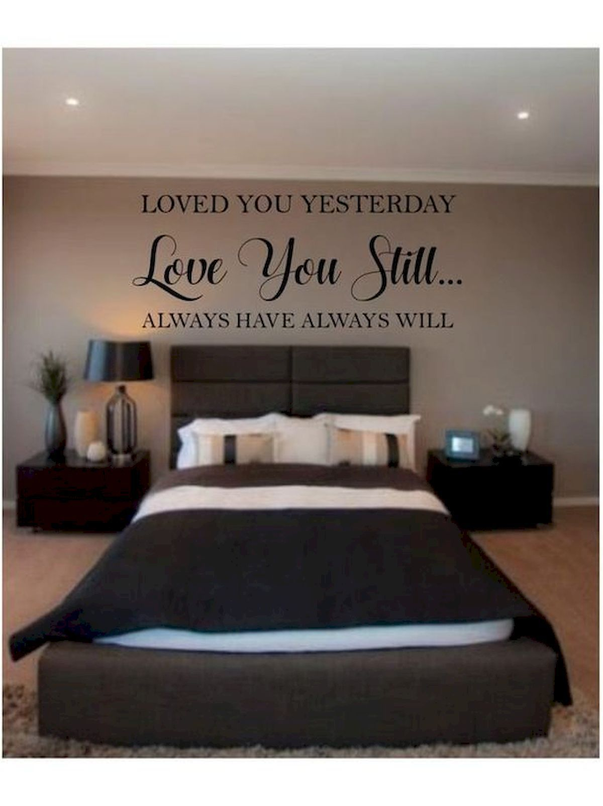 55 Romantic Diy Bedroom Decor For Couple 1 Romantic Bedroom Decor Bedroom Decor For Couples Couples Master Bedroom Bedroom decor for couples