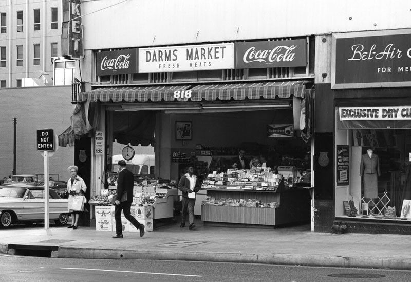 "WILLIAM REAGH Los Angeles ""Darm's Market"" (1968"