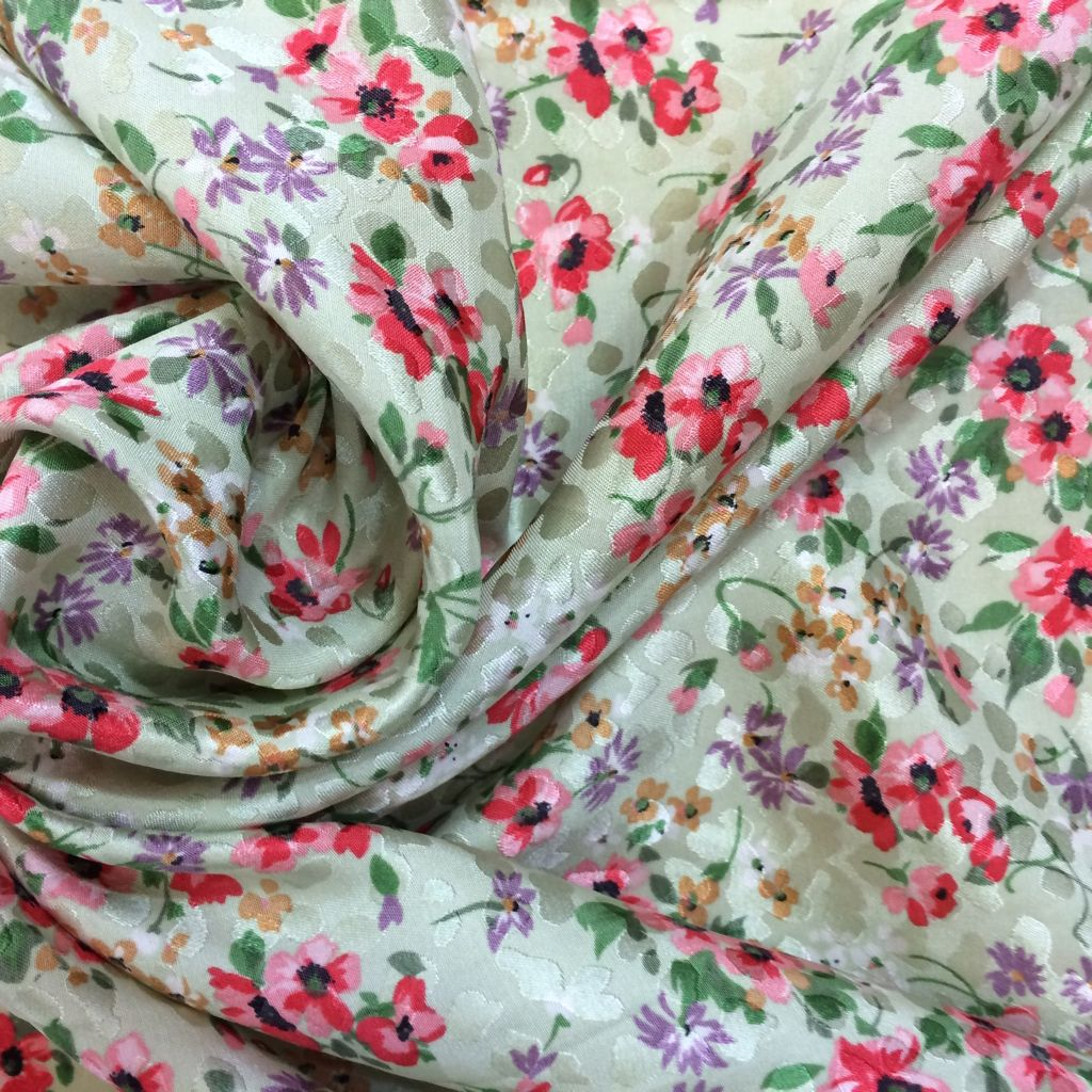 High fashion fabric houston - Haute Couture Luxury Silk Fabric Buy Online Printed Floral Fabric Fashion Designer Dress