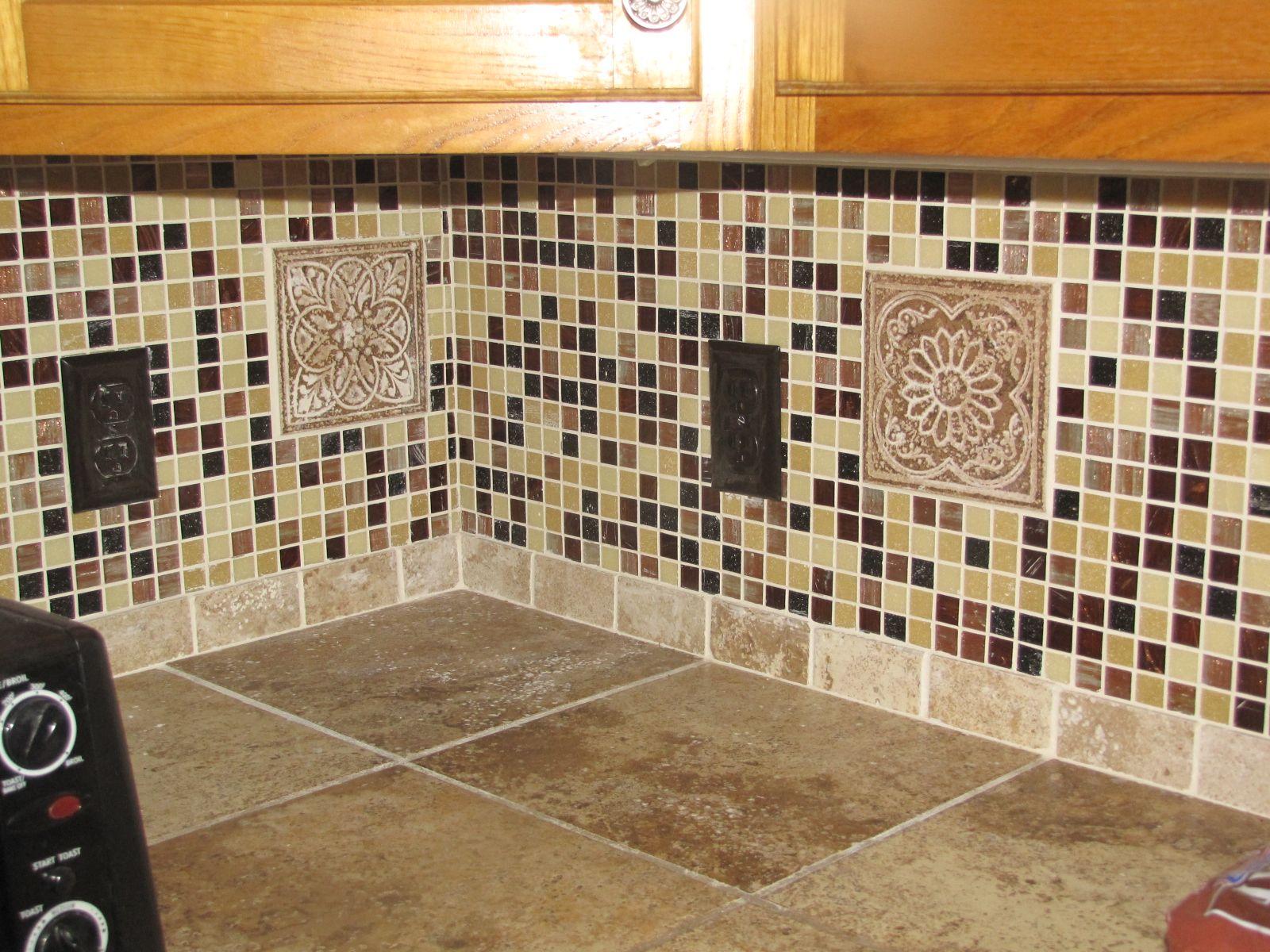 Tiled countertop backsplash over existing mauve laminate dream tiled countertop backsplash over existing mauve laminate doublecrazyfo Gallery