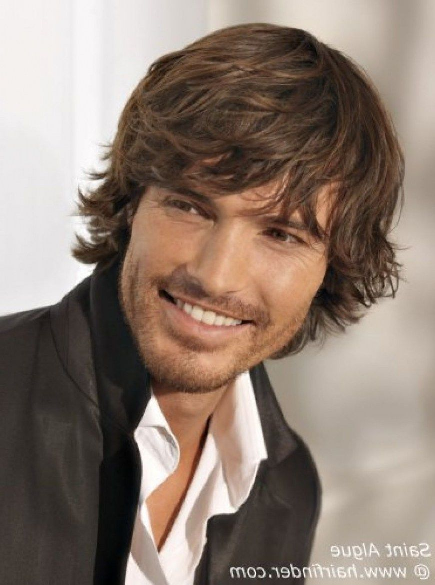 Mens Layered Hairstyles Medium Length Hairstyles Ideas For Me