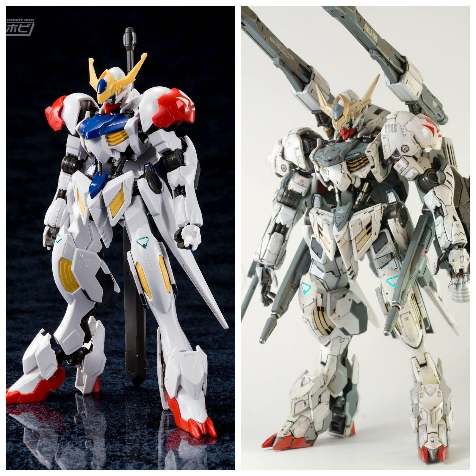 Custom Build: HG 1/144 Gundam Barbatos Lupus   Barbatos lupus, Gundam  custom build, Gundam