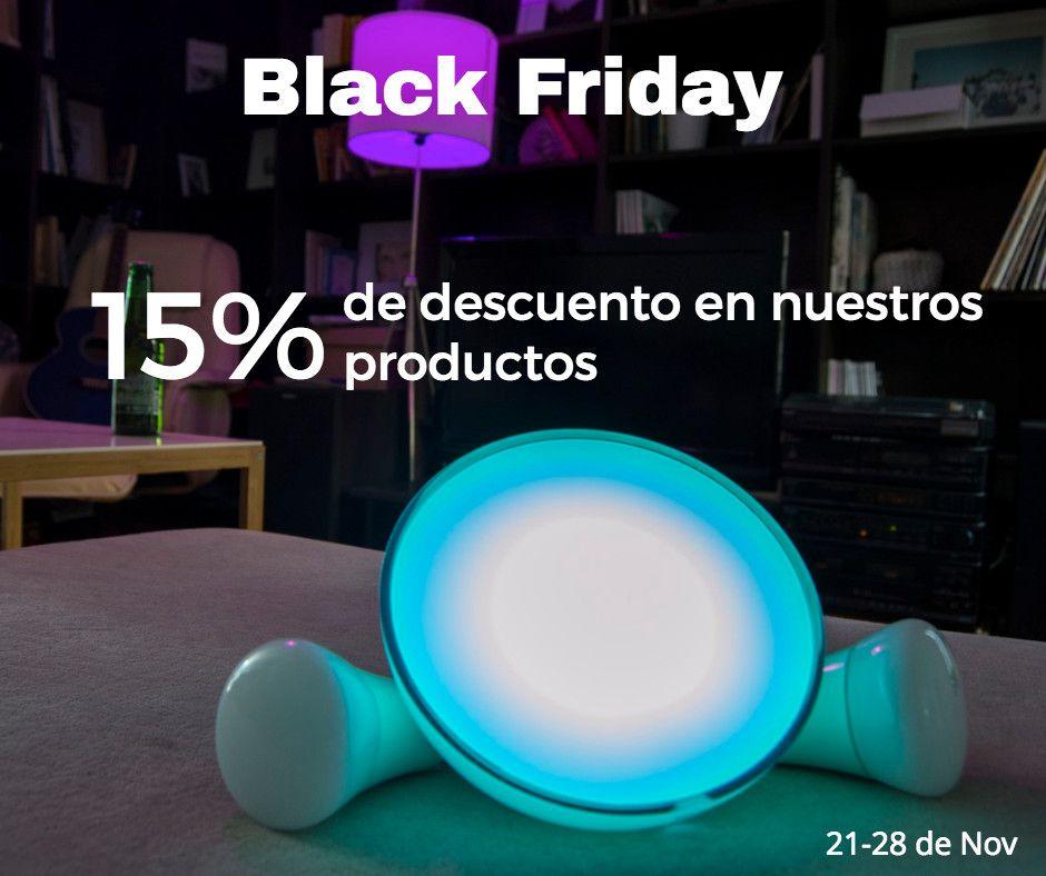 15% de descuento en todos nuestros productos... Nos adelantamos al Black Friday #Deals #Netbeast #BlackFriday