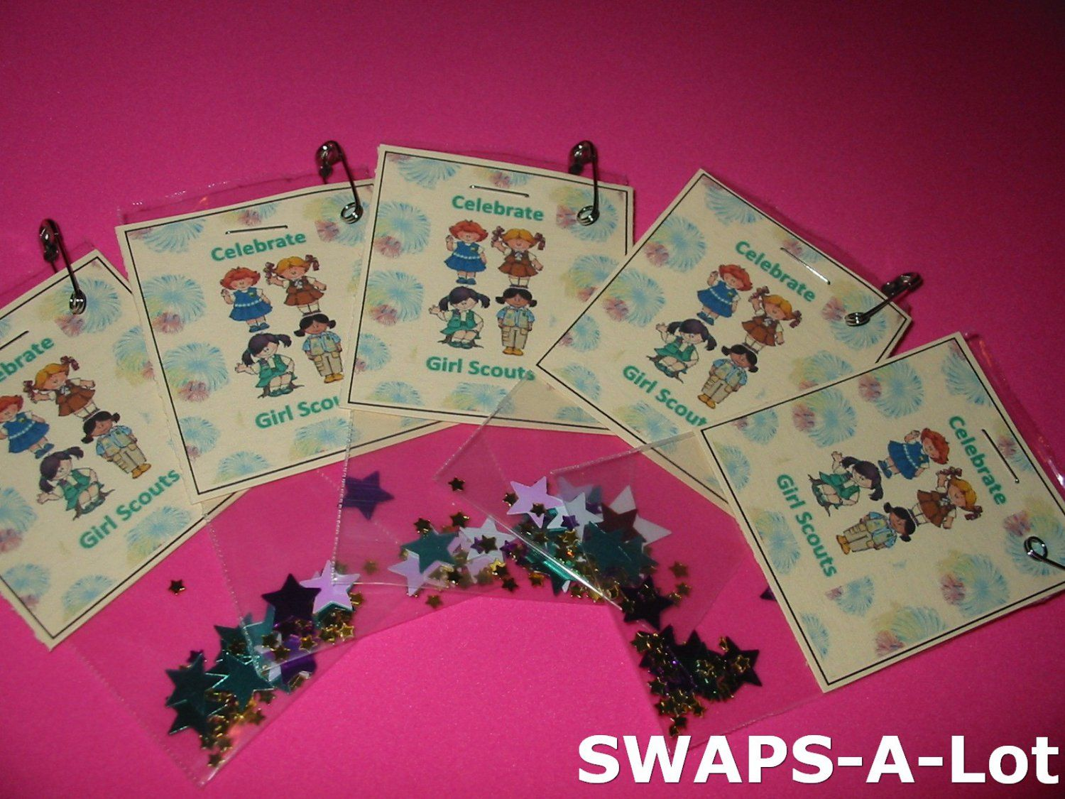 Ideas Directions on Resource CD Scout Girl SWAPS 300