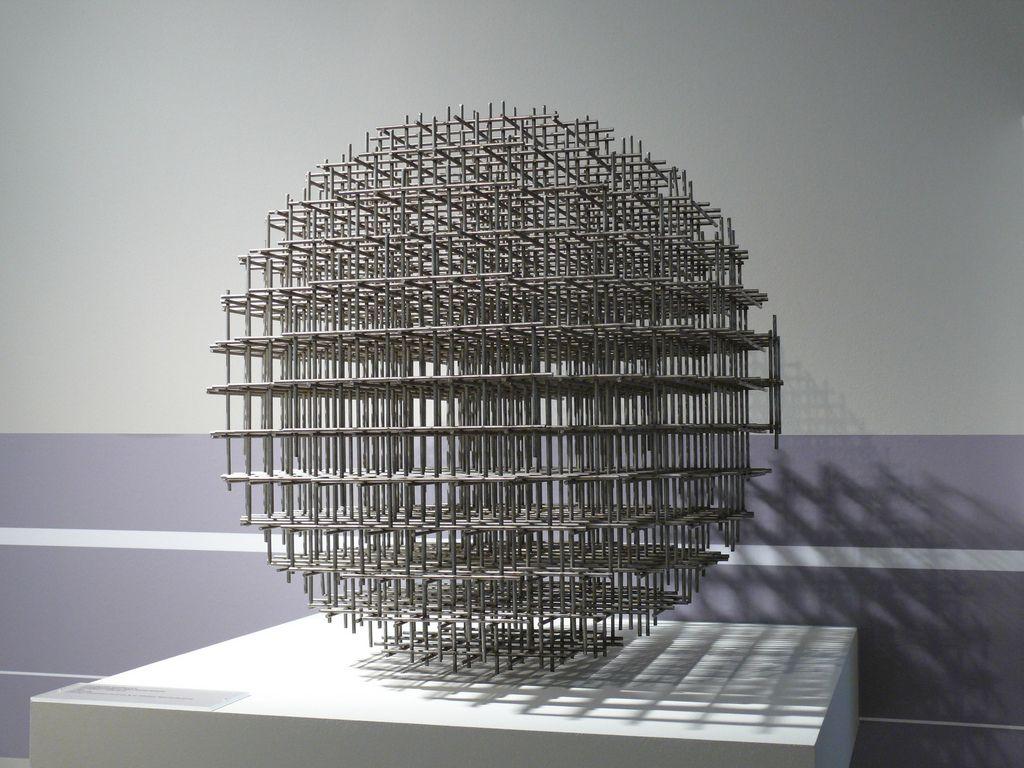 Gunther Uecker Reihung 1970 Light Art Sculpture Artist Sculpture Installation