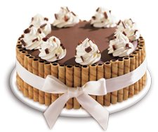 Terrific Haagen Dazs Ice Cream Rich Chocolate Coating Cake Encircled With Personalised Birthday Cards Akebfashionlily Jamesorg