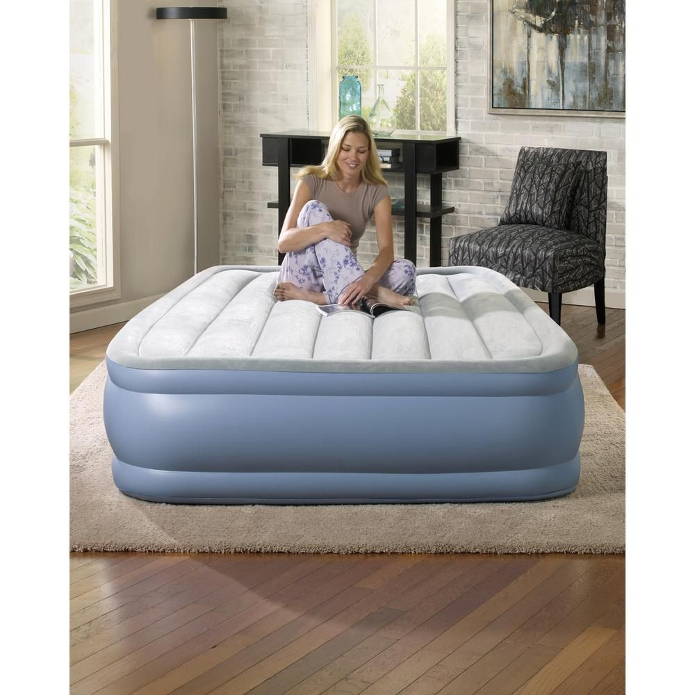 Beautyrest Full 16 in. Hi Loft Raised Adjustable Air Bed