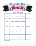 Printable New Years Games - Funsational.com (With images ...