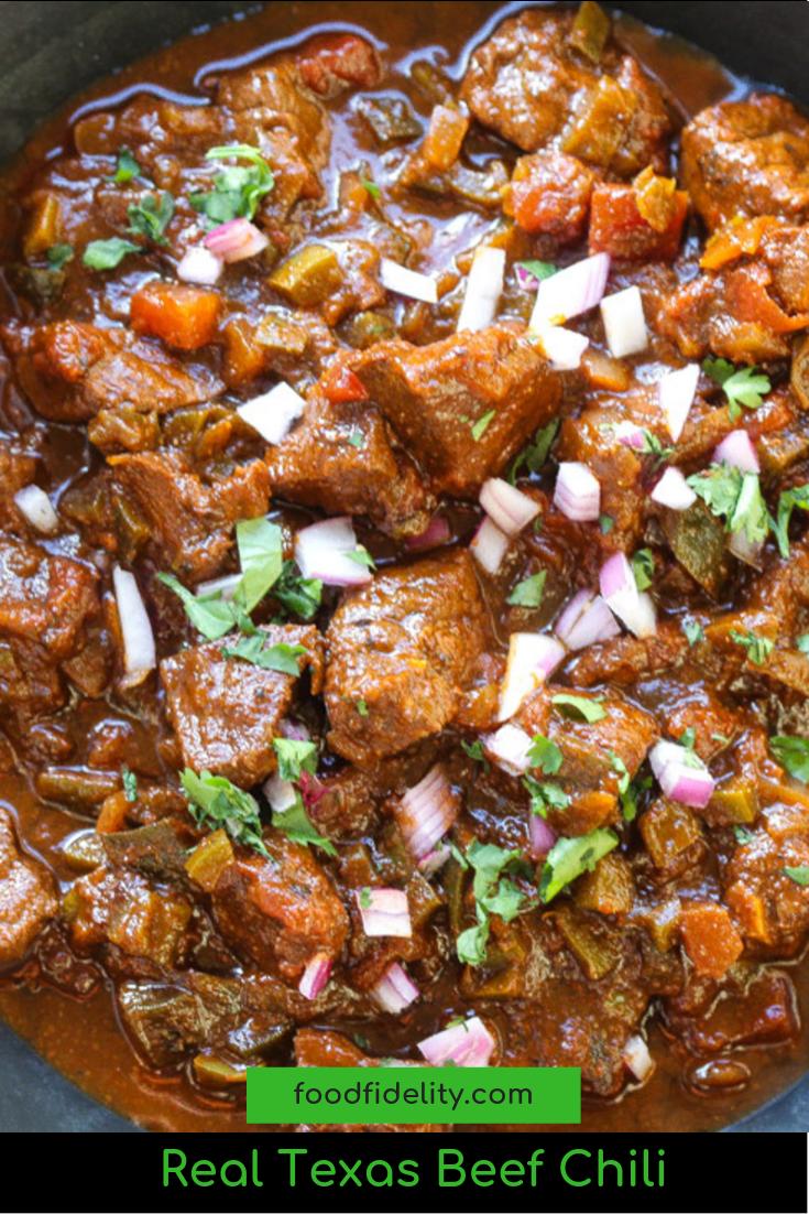 Real Texas Beef Chili Chili Recipe Crockpot Chili Recipes Chilli Recipes