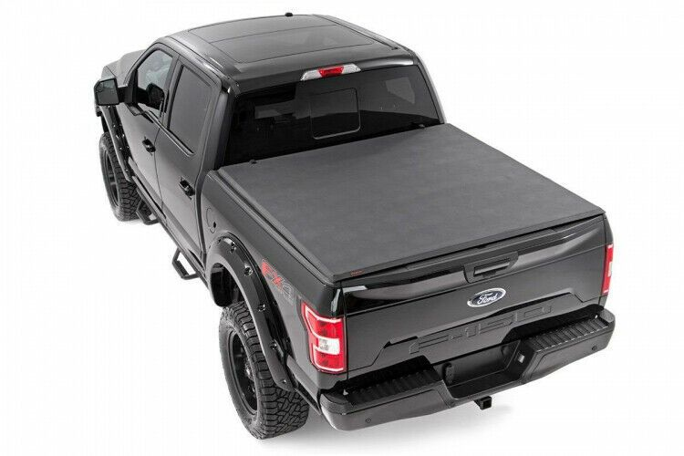 Sponsored Ebay Rough Country Tri Fold Soft Bed Cover Ford