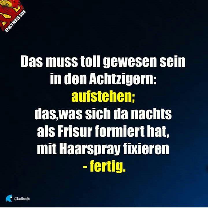 Frisur Lustig Witzig Spruche Bild Bilder 80er Witzige Spruche Lustig Witzige Bilder Spruche