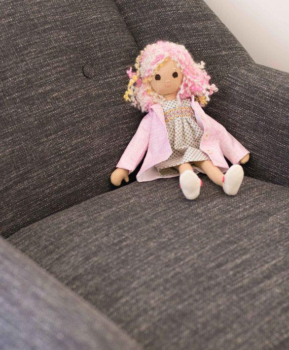 Pixie Doll with Wardrobe, including smocked dress