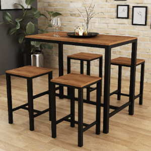 £140 Dining Table Sets | The Range | High dining table set ...