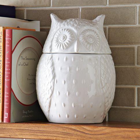 Owl Cookie Jar | west elm $39