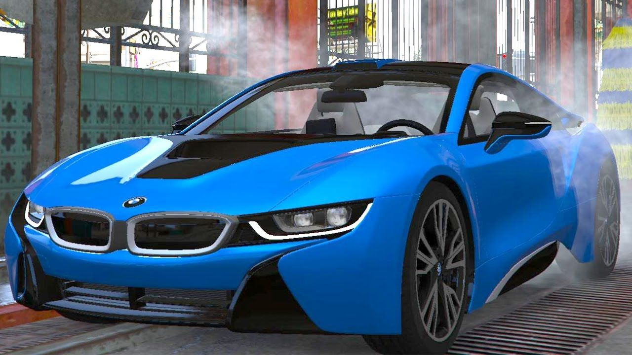 Kids Car Wash Compilation Bmw I8 Hd Cartoon Animation Car Wash