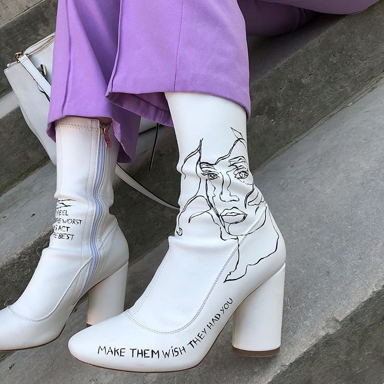 Make them wish they had you | Fashion shoes, Cute shoes