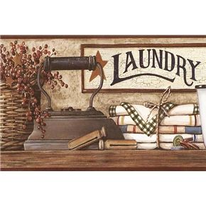 Primitive Laundry Decor