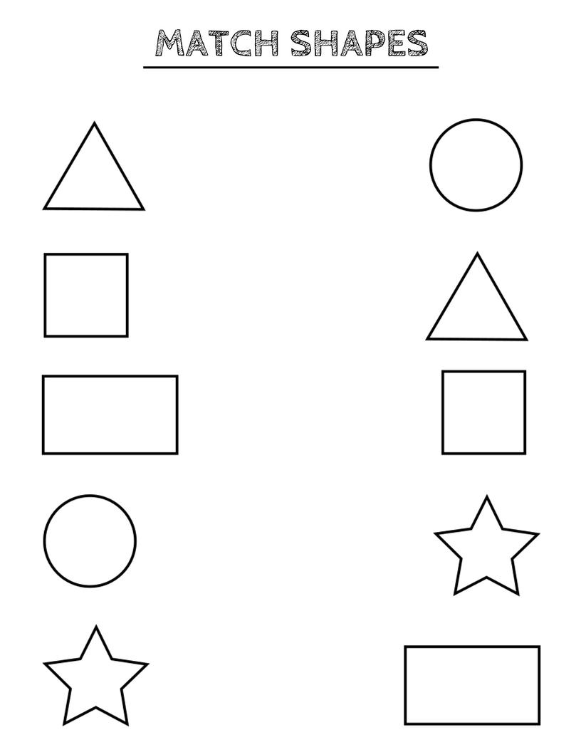 Learning Shapes, Shape Matching Game, Educational