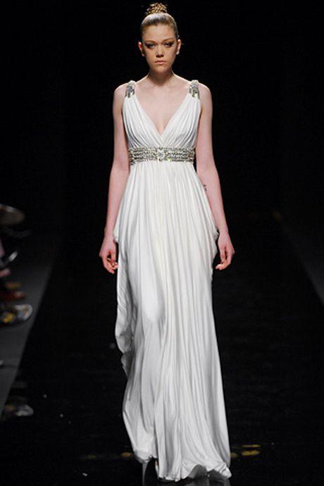 resultado de imagen para vestido largo corte helenico | carmen