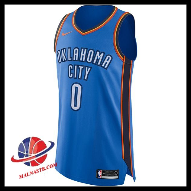 online retailer 9344b 4973a Commander Maillot Basket Homme Russell Westbrook Oklahoma ...