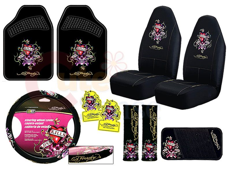 25badd9c0b3c Ed Hardy car accessories
