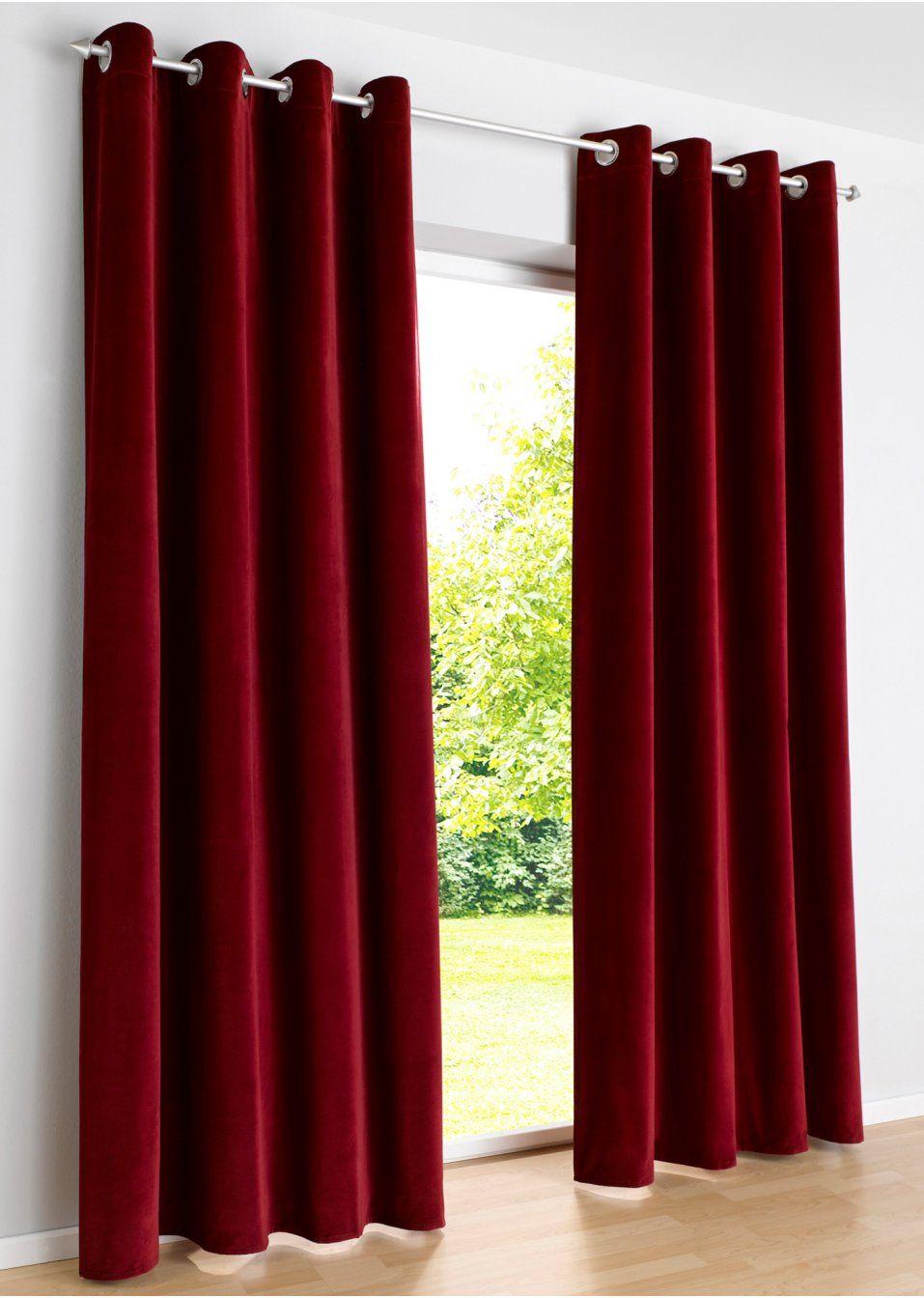 Samt Vorhang \