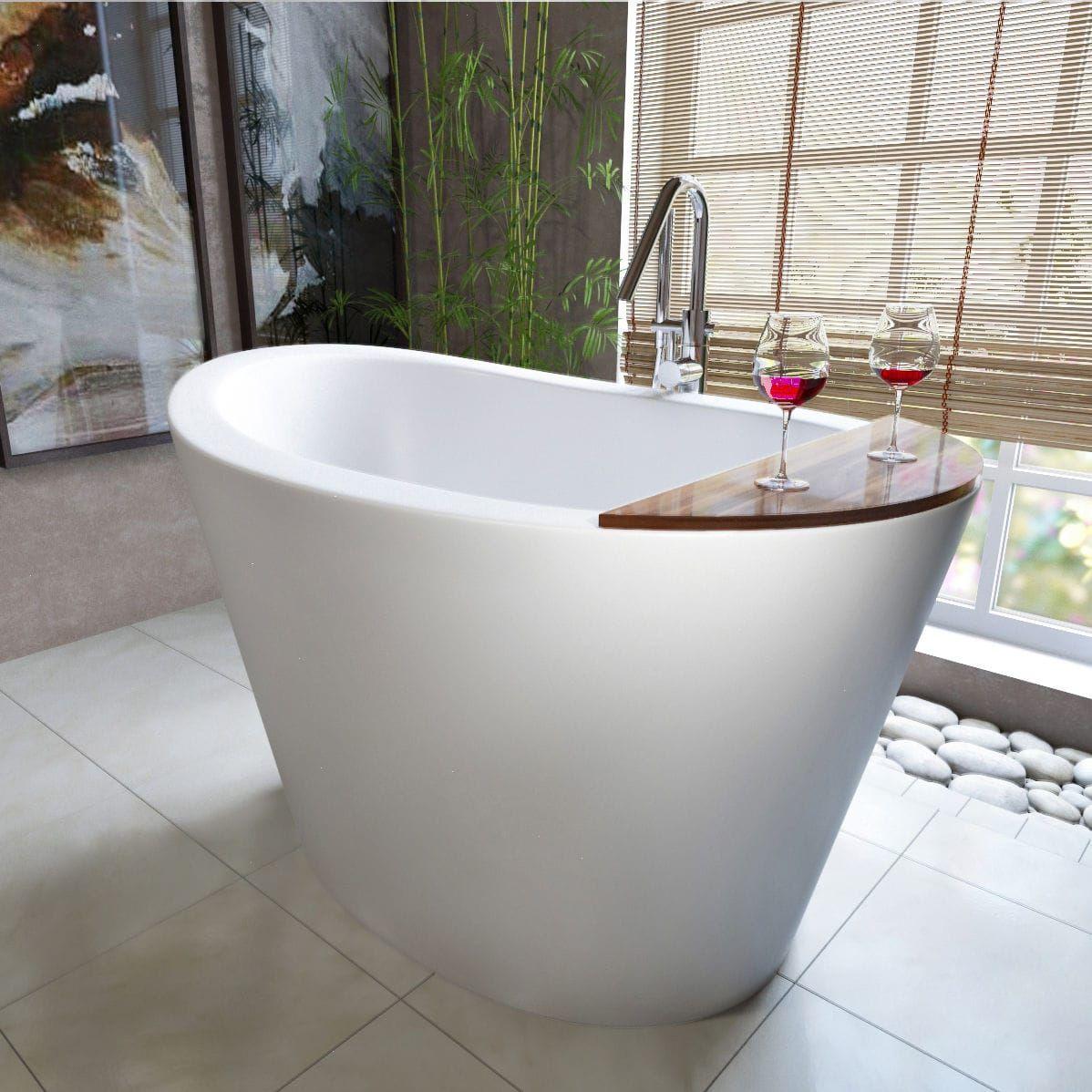 Freestanding Bathtub Oval Stone Deep True Ofuro Aquatica Plumbing Group Japanese Bathtub Japanese Soaking Tubs Soaking Bathtubs