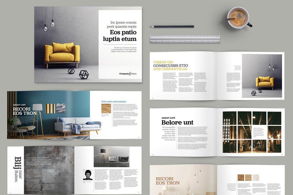 Landscape Brochure Design Template Interior Design Template Brochure Design Template Interior Brochures