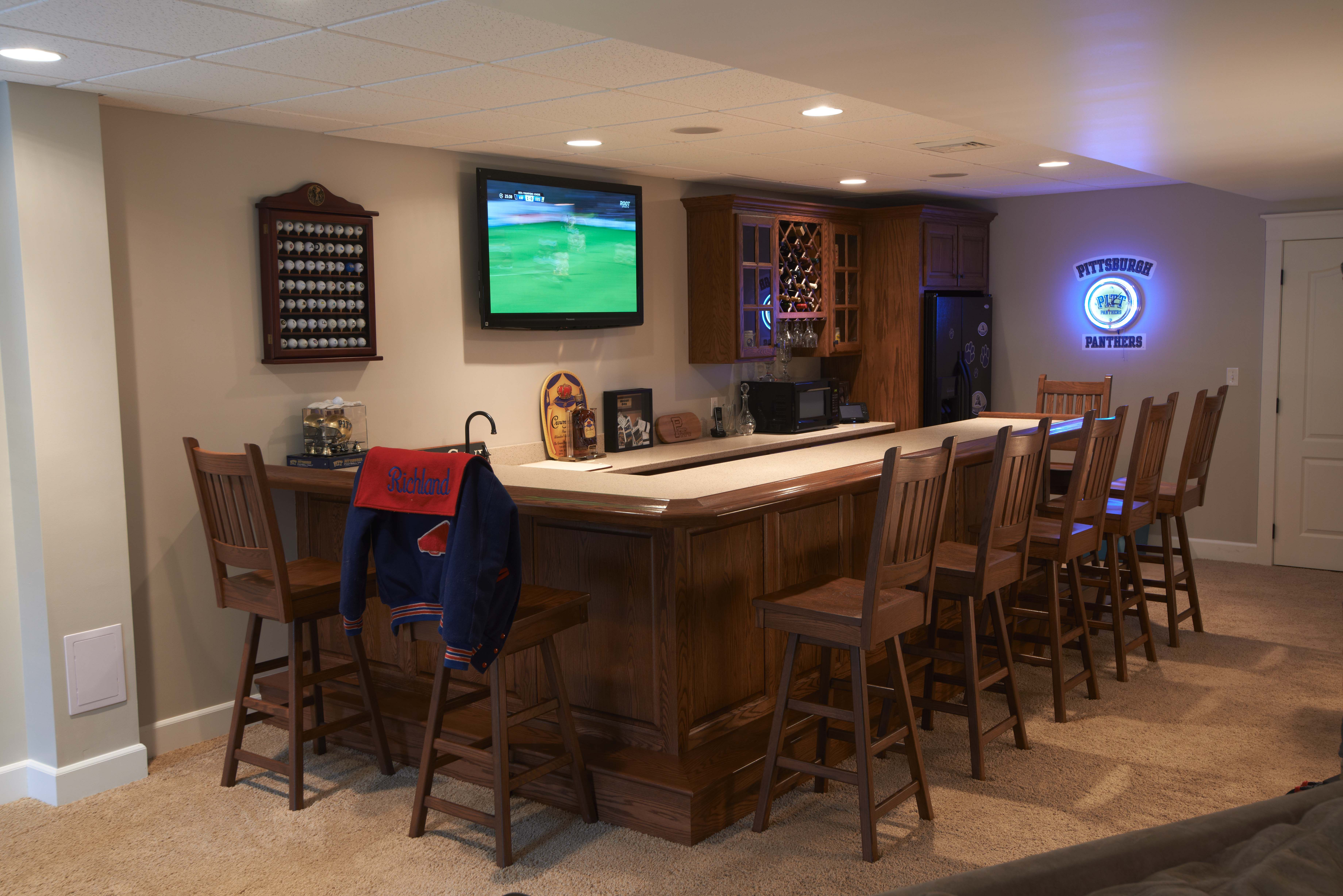ultimate basement man cave. The Ultimate Basement Bar! #mancave Man Cave