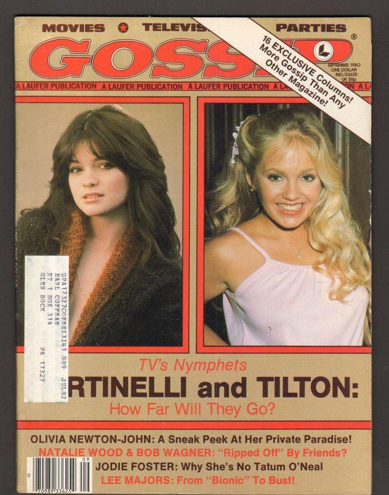 Gossip Magazine September 1980 Nymphets Valerie Bertinelli And Charlene Tilton Movie Magazine Charlene Tilton Vintage Ads