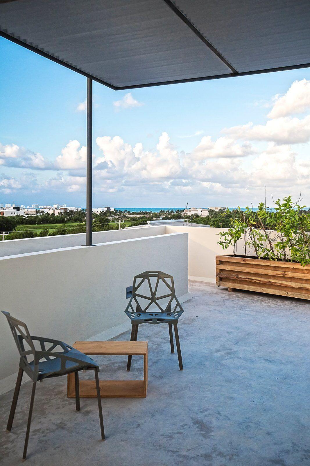 Dachterrasse Gestalten Umweltfreundliche Idee: Geräumiges Terrasse