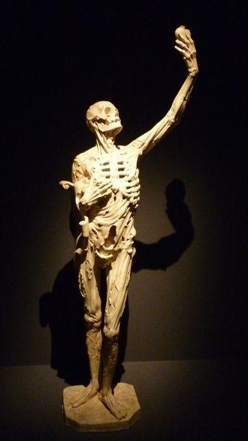 Le squelette de Ligier Richier (4 septembre 2011) Statue