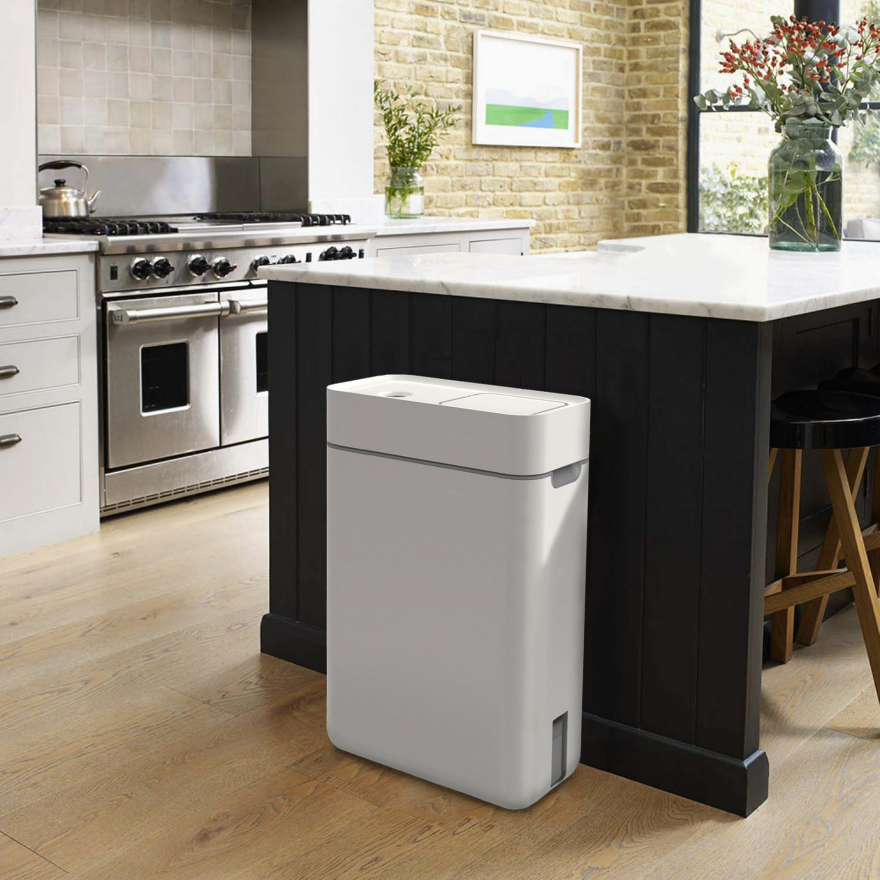 Taihi Is A Unique Kitchen Compost Bin That Provides Users With A Clean,  Smell