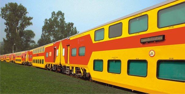 In India The Double Decker Shuttle Trains In Several Ways 1 The Ahmedabad Mumbai Bhopal Indore 2 3 Chennai Bangalore Train Indian Railways Chandigarh