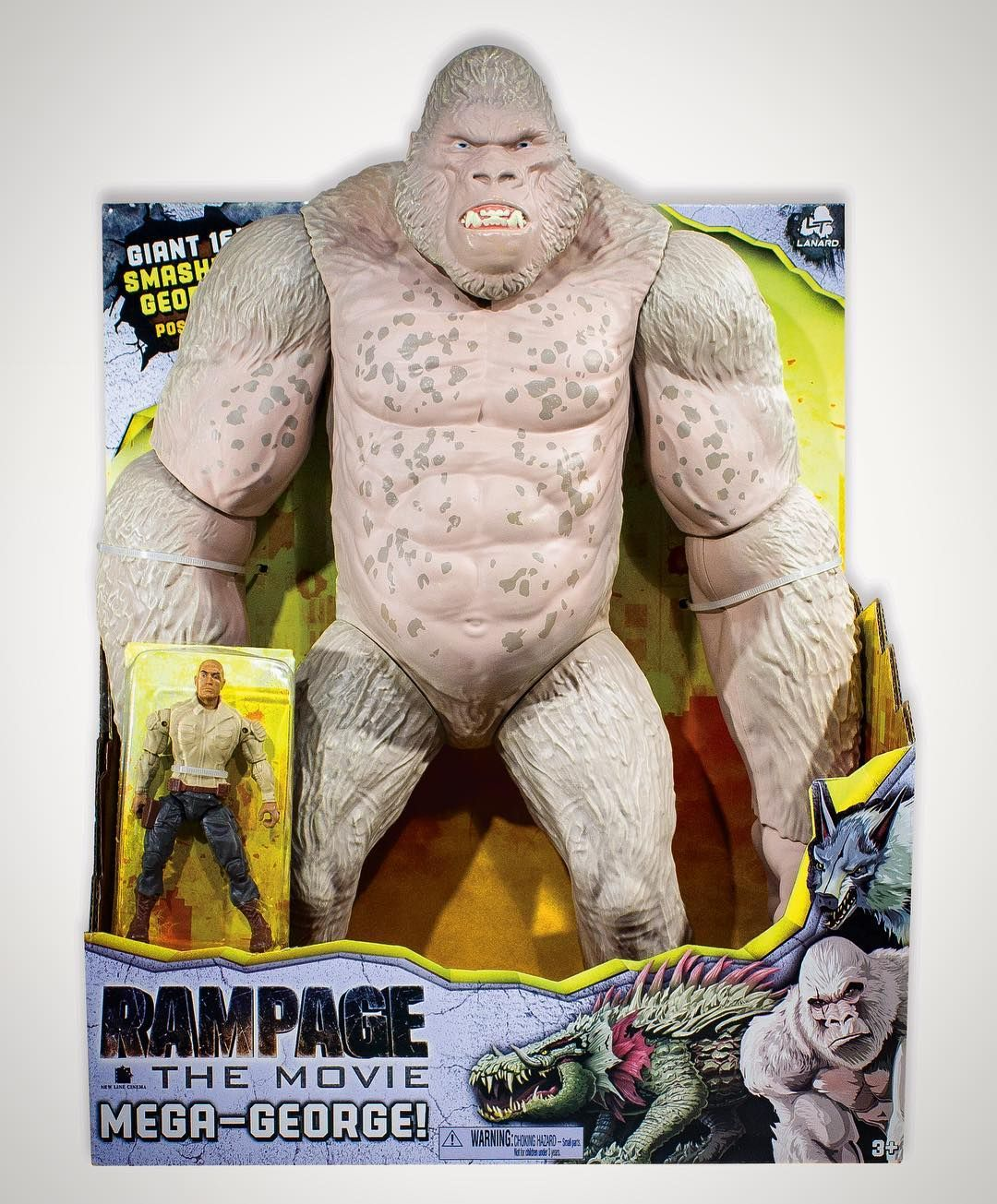 Official Website Launched For Rampage Movie Toys Rampage Movie