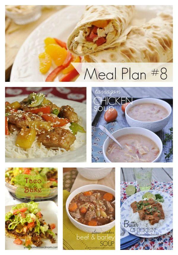 Was gibt es zum Abendessen?} Speiseplan # 8   – Meal Plans