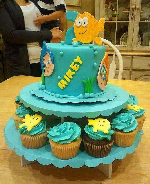 Bubble Party Cake Ideas