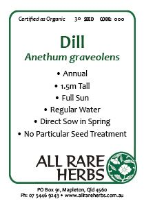 Dill Seed Herb Seeds Seeds Herbaceous Perennials 400 x 300