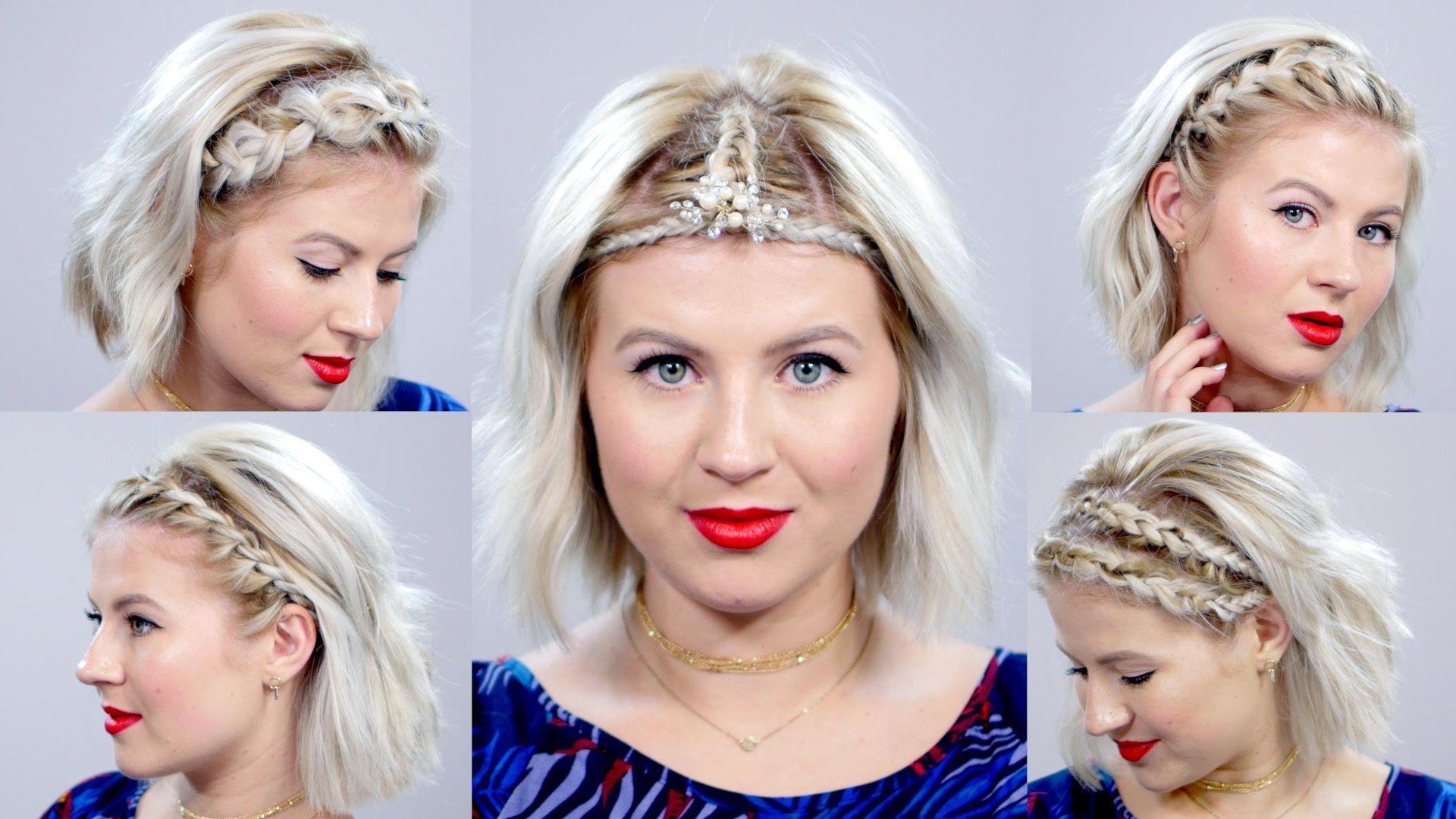 5 Braided Headbands For Short Hair Milabu H A I R